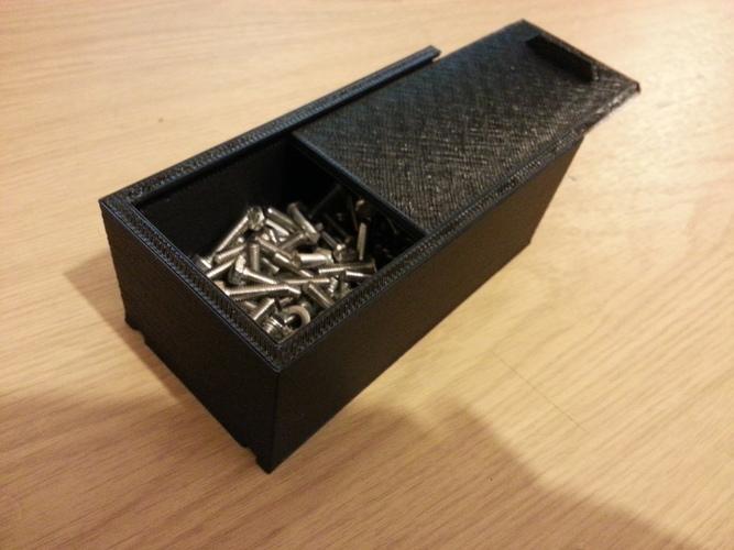 Simple storage box 3D Print 110691 & 3D Printed Simple storage box by Paul Holmes | Pinshape