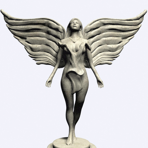 Beautiful Angel 3D Print 110724