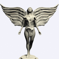 Small Beautiful Angel 3D Printing 110724