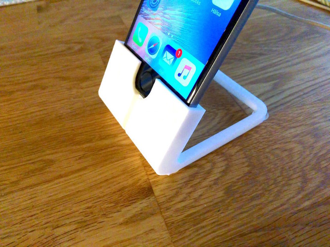 Yet another iPhone 6 stand 3D Print 110744