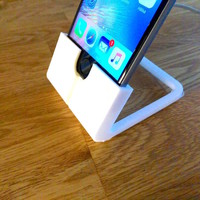 Small Yet another iPhone 6 stand 3D Printing 110744