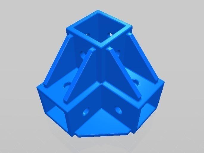 Best Photo Printer 2020 3D Printed World's best printable 2020 extrusion corner connector