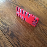 Small iPhone 6 Plus Rib Case  3D Printing 110799