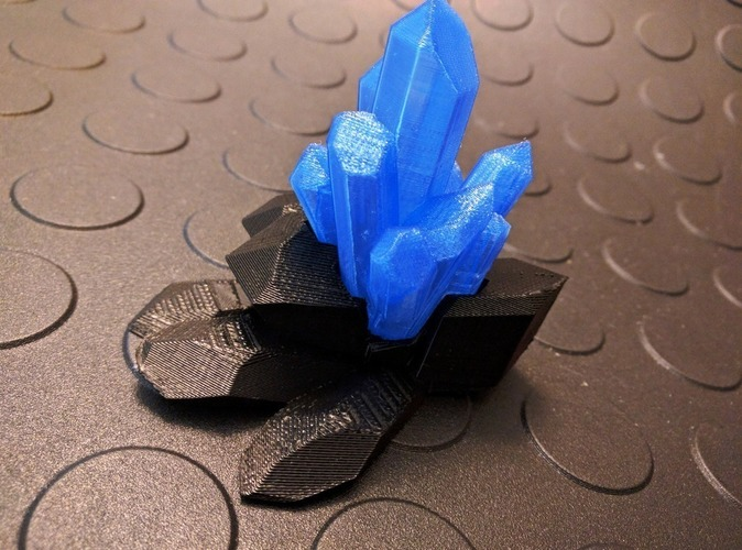 Crystals, Diamonds, and Gems 3D Print 110851