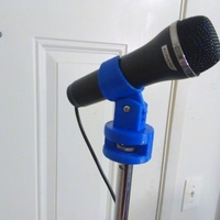 Small Microphone Holder 3D Printing 110861