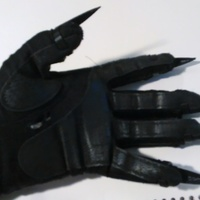 Small Venom Costume Claws 3D Printing 110877