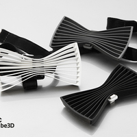 Small Bow tie 01 - flat 3D Printing 110931