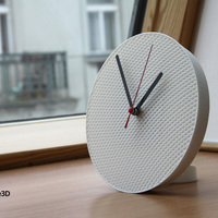 Small Structure Clock 3D Printing 110937