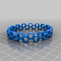 Small My Customized Bracelet Designer large 3D Printing 110966