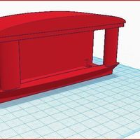 Small Belt holder modular 3D Printing 110977