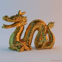 Small Magic Puff Dragon 3D Printing 111046