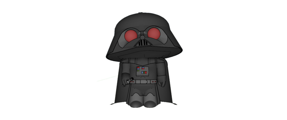 Darth Stewie - Family Guy 3D Print 111246