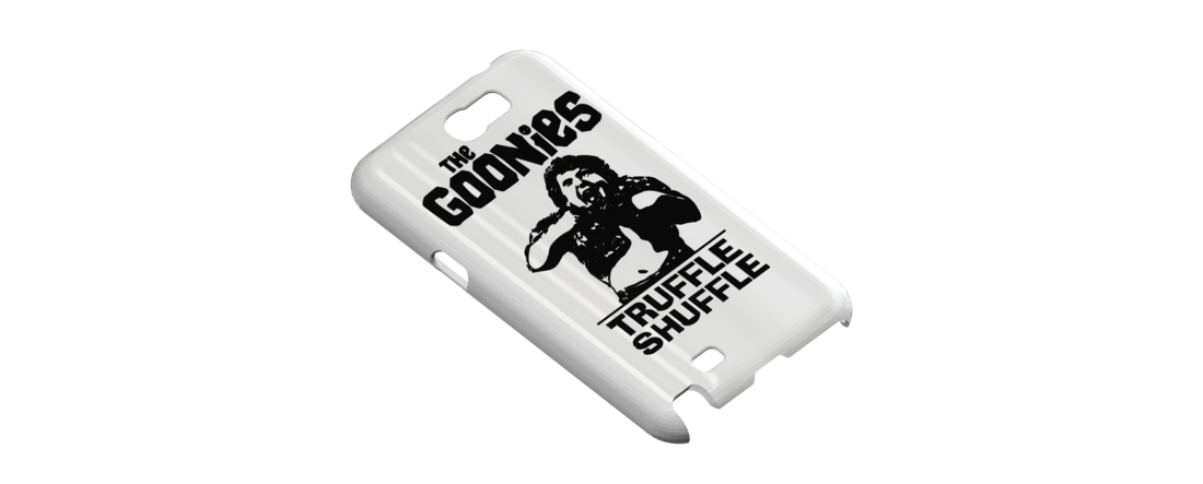 The Goonies - Truffle Shuffle, Galaxy Note 2 Phone Case 3D Print 111258
