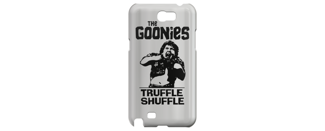 The Goonies - Truffle Shuffle, Galaxy Note 2 Phone Case 3D Print 111259