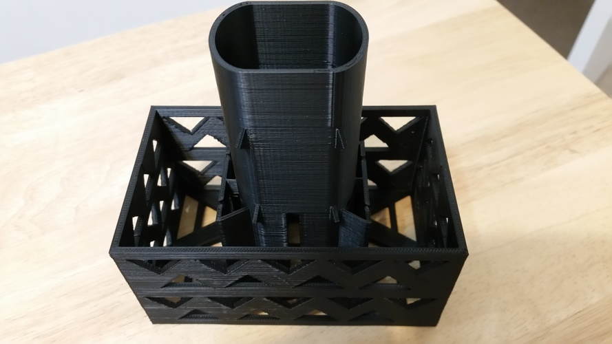 Gutter Downspout Filter 3D Print 111260