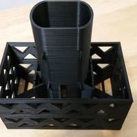 Small Gutter Downspout Filter 3D Printing 111260