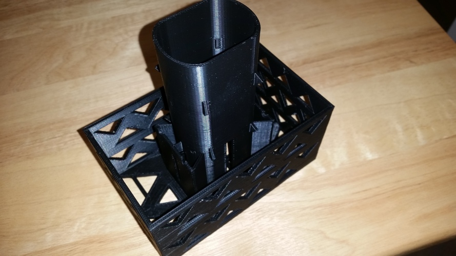 Gutter Downspout Filter 3D Print 111261