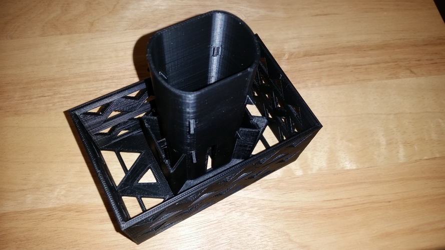 Gutter Downspout Filter 3D Print 111262