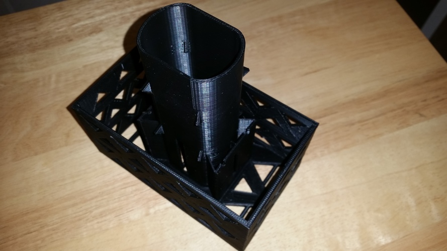 Gutter Downspout Filter 3D Print 111263