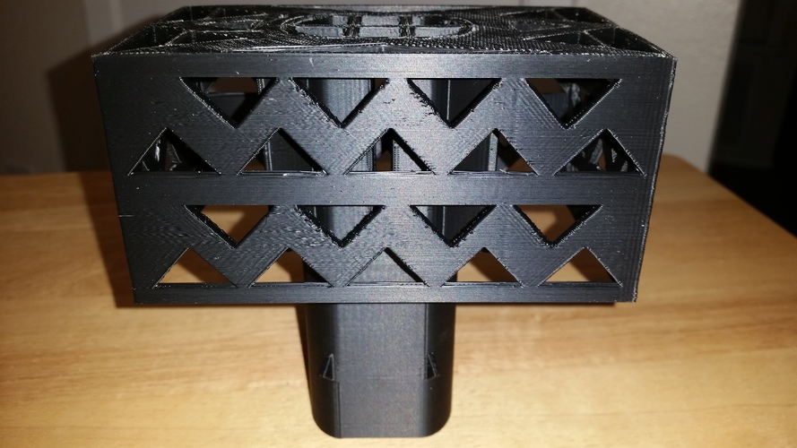 Gutter Downspout Filter 3D Print 111266