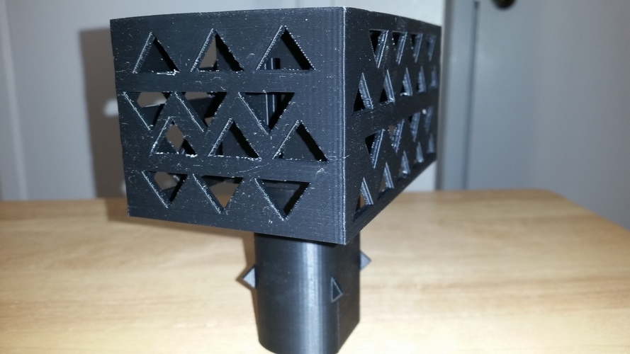 Gutter Downspout Filter 3D Print 111267
