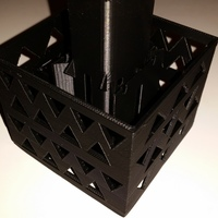 Small Gutter Downspout Filter (corner section) 3D Printing 111288