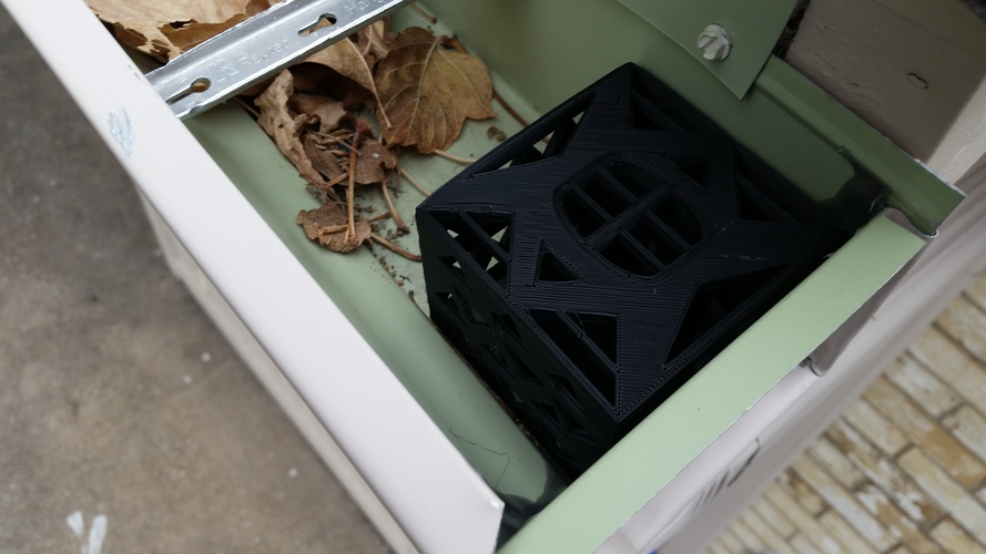 3d Printed Gutter Downspout Filter Corner Section By