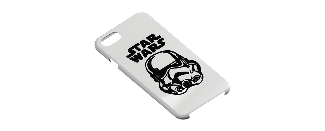 Star Wars - Stormtrooper, iPhone 7 Phone Case 3D Print 111375