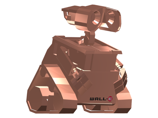 Wall-E (Low Poly) 3D Print 111393