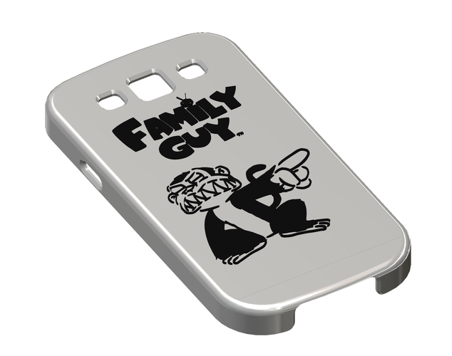 Family Guy - Evil Monkey, Galaxy S III Phone Case 3D Print 111415