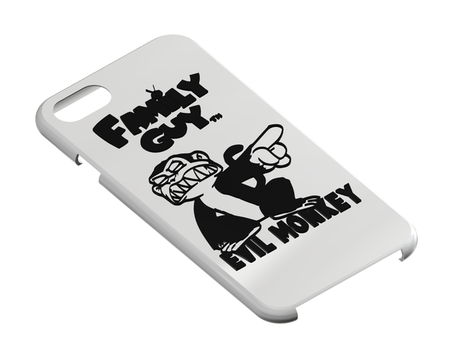 Family Guy - Evil Monky, iPhone 7 Phone Case 3D Print 111417