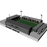 Small Notts County Stadium - Meadow Lane 3D Printing 111432