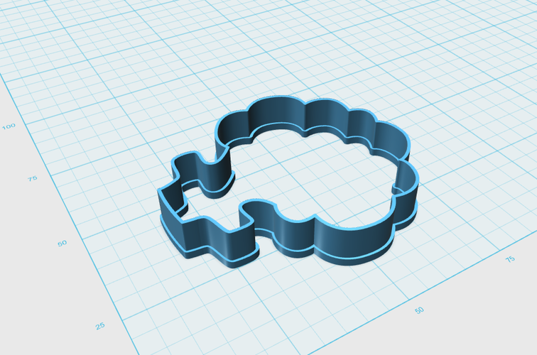 Broccoli Cookie Cutter 3D Print 111466