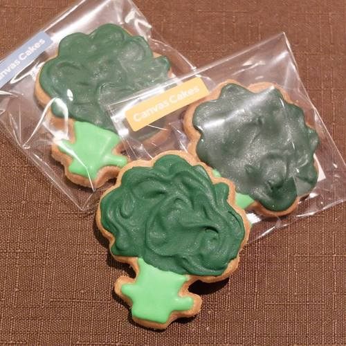 Broccoli Cookie Cutter 3D Print 111467