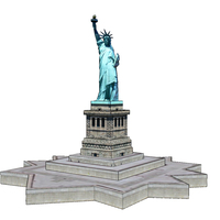 Small Statue of Liberty 3D Printing 111468