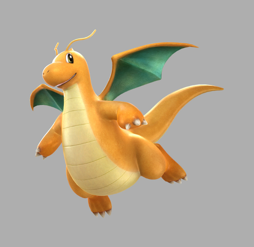 Dragonite - Pokemon 3D Print 111481