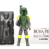 Small Boba Fett & Han in Carbonite 3D Printing 111518