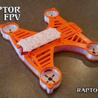 Small Raptor 190 Quadcopter (Ver 8) 3D Printing 111544