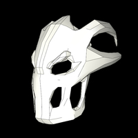 Small Terror Mask 3D Printing 111589