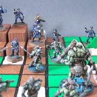 Small Modular Heroic-Scale Terrain System 3D Printing 1116