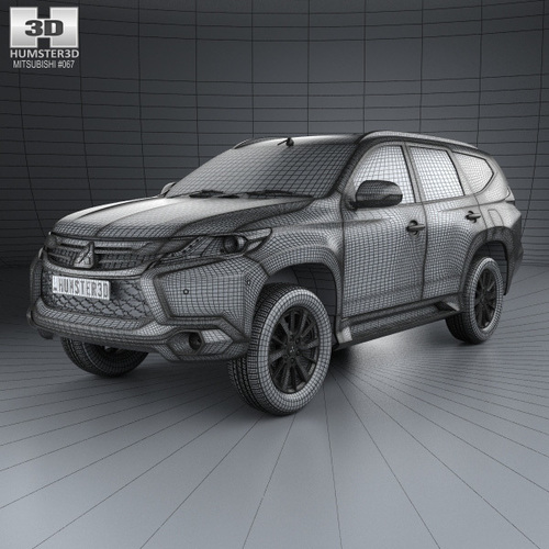 Mitsubishi Pajero Sport (TH) 2016 3D model 3D Print 111620