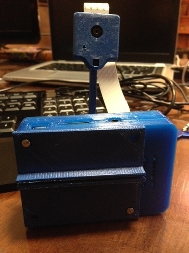 Camera stalk for Raspberry Pi Camera 3D Print 111680