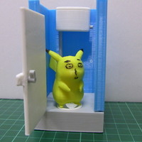 Small 86Duino Squat Toilet 3D Printing 111704