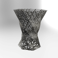 Small LIT sleek twisted vase 3D Printing 111751