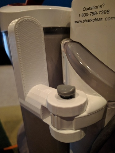 Shark Rotator Vacuum Power Cord Holder 3D Print 111756