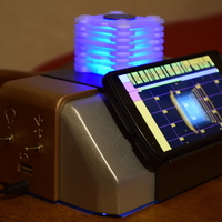 Small Star Trek Inspired Phone Dock 3D Printing 111769