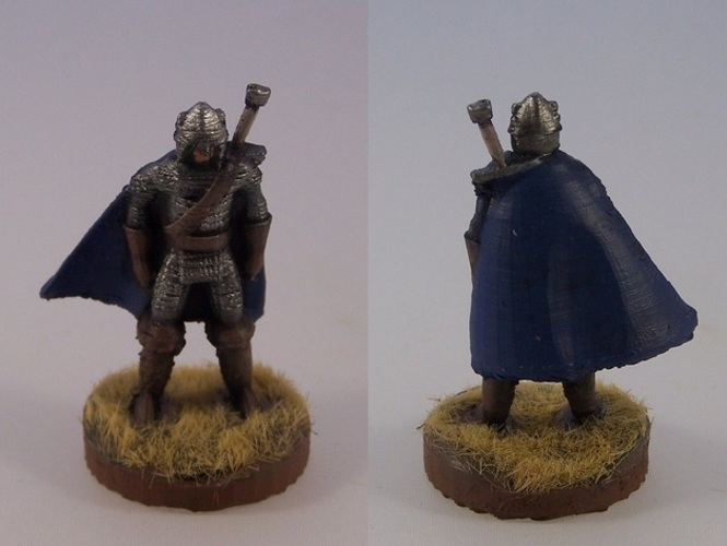 Northern Warrior with Greatsword 3D Print 1119