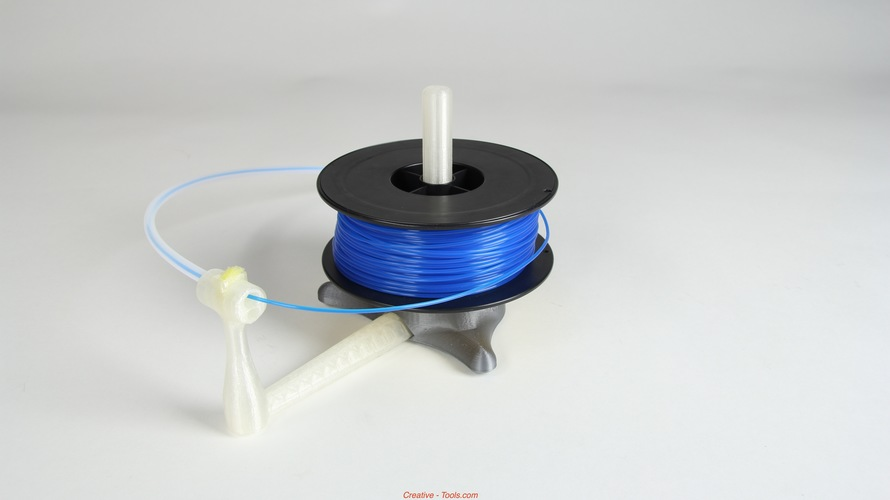 Universal stand-alone filament spool holder (Fully 3D-printable) 3D Print 11201