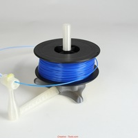 Small Universal stand-alone filament spool holder (Fully 3D-printable) 3D Printing 11201