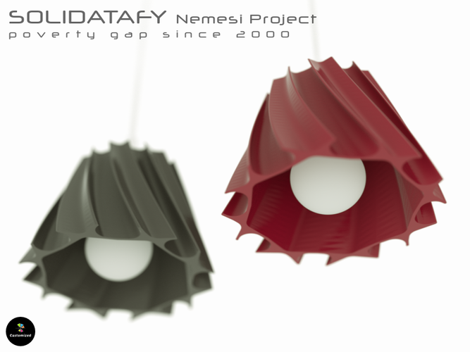 Solidatafy – Poverty Gaps 3D Print 112123